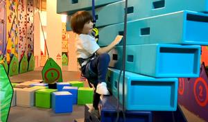 Kindergeburtstag in der Kletterhalle feiern
