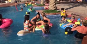 Kindergeburtstag im Schwimmbad